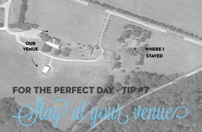 for the perfect day - tip #7